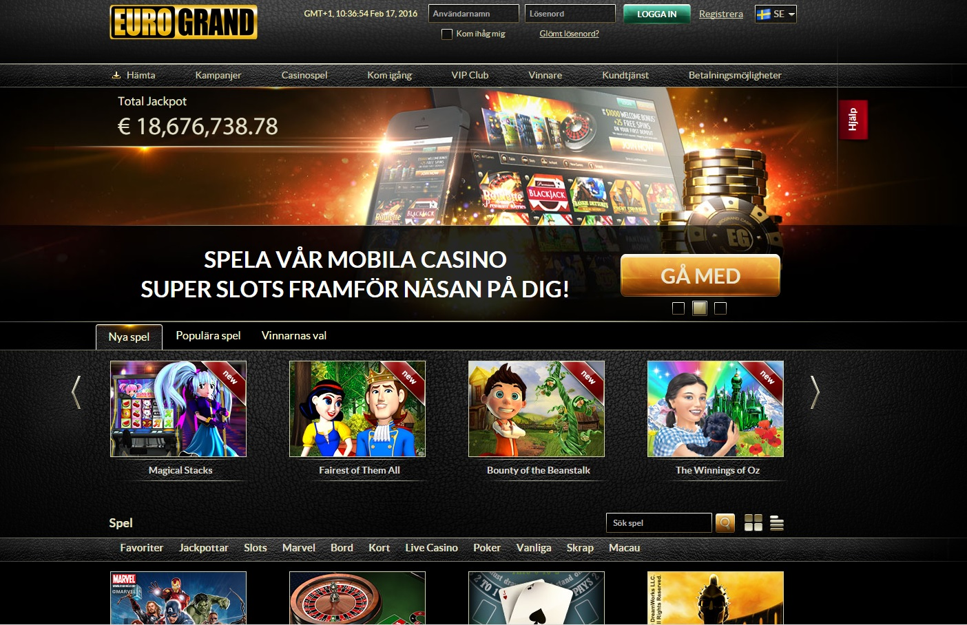 Casino velkomstbonus uden indskud