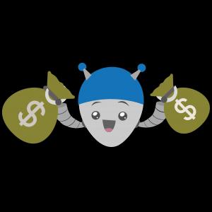 onlinecasino.nu mascot med påsar med gratis bonusar