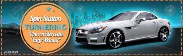 Vinn en bil varje månad hos Spinstation casino