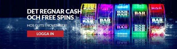 Guts casino spinnin in the rain