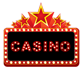 Retro casino sign