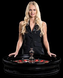 Roulettehjul med live dealer