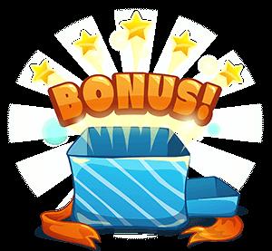 Tecknad paket med bonus