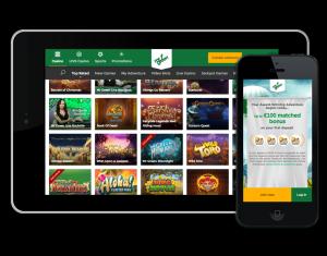 MrGreen mobil och ipad casino