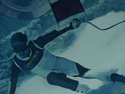 Bethard Vinterspel kampanj skidåkare