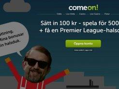Comeon Premier League halsduk i bonus