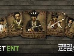 Netent dead or alive slot banner