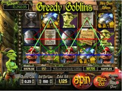 Greedy Goblins spelautomat